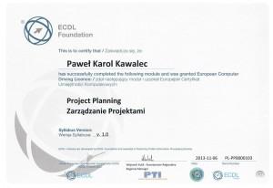 ECDL Zarządzanie Projektami